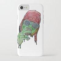 kurt rahn iPhone & iPod Cases featuring Kurt  by Montana