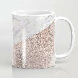 Expensive pink - rose gold marble Coffee Mug