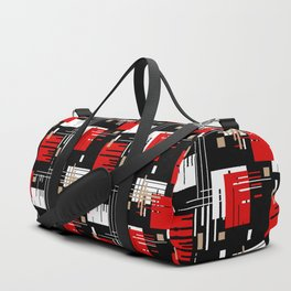 Abstract pattern Retro 2 Duffle Bag