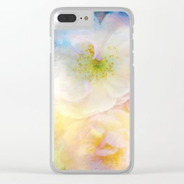 Dreaming of Roses Clear iPhone Case