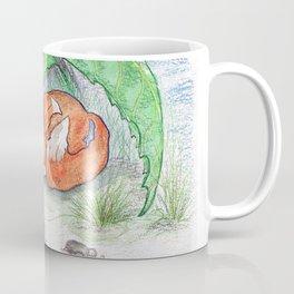 Foxy in the rain Coffee Mug