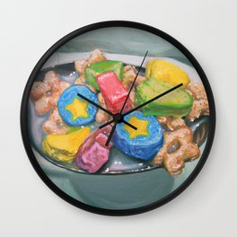 Marshmallow Cereal Wall Clock