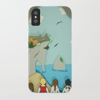 narnia iPhone & iPod Cases featuring Ruins in Narnia? by Deer Heart Sly Fox