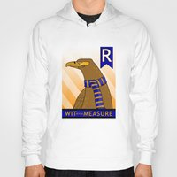 ravenclaw Hoodies featuring Ravenclaw Eagle (book version) by makoshark