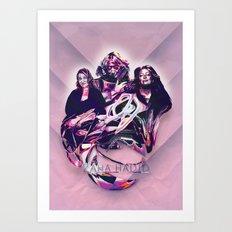 ZAHA HADID: DESIGN HEROES Art Print