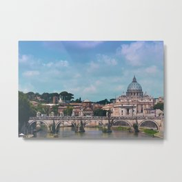 Rome city scape Metal Print