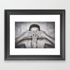 Time out ! Framed Art Print