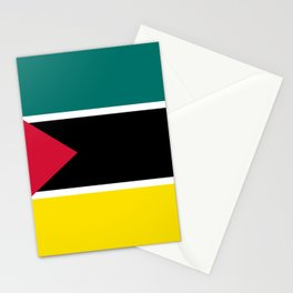 Mozambique Flag Stationery Cards