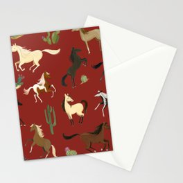 Mustangs Stationery Cards