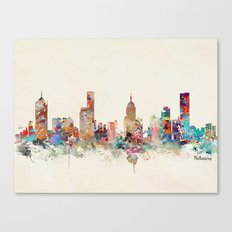 melbourne australia Canvas Print
