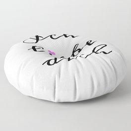 Ich Liebe Dich Floor Pillow