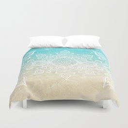 Beach Mandala Duvet Cover