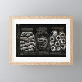 Creepy Jars Framed Mini Art Print
