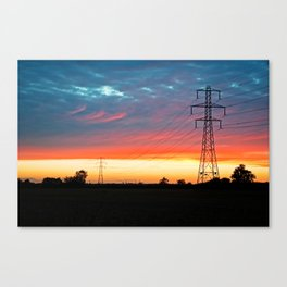 The Warmth Of Lincolnshire Canvas Print