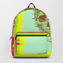 Glitch Skull Backpack