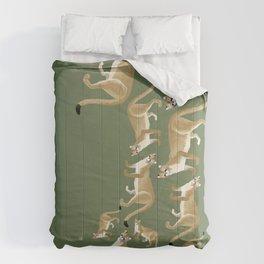 Feline cougar Comforters