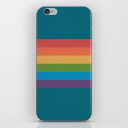 Indigo Rainbow iPhone Skin