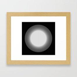 The light from beyond Framed Art Print