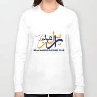 real madrid Long Sleeve T-shirts featuring Real Madrid by Sport_Designs