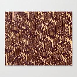 Buildings Canvas Print