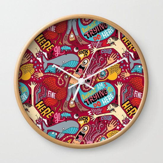 What am I Trying to do Here? Wall Clock