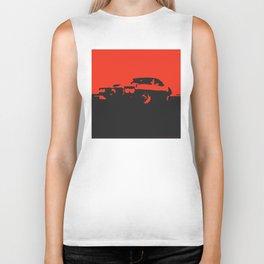Pontiac Firebird, Red on Black Biker Tank