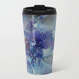 Blue Wisteria Descending Travel Mug