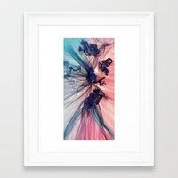 smoke Framed Art Prints featuring Smoke by JR Schmidt