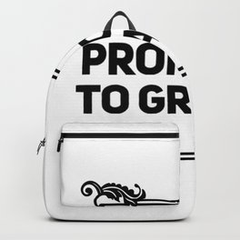 Promoted To Granny Backpack