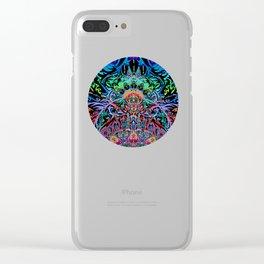 Mandala Energy Clear iPhone Case
