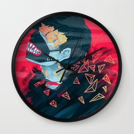 Crystal Kid Wall Clock