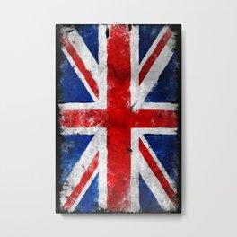UK Vintage flag Metal Print