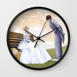 Demande en mariage Wall Clock