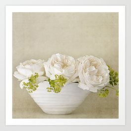 Rose Bowl Art Print