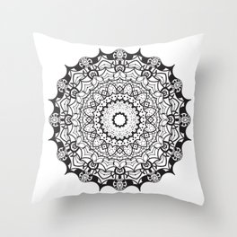 Spooky Lacey Throw Pillow