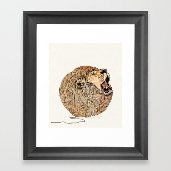 Unravel Me Framed Art Print