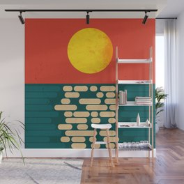 Sun Over The Sea - Afternoon Wall Mural