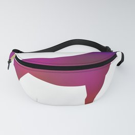 Horse - Two - Colorful Fanny Pack