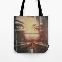 eye see the road Tote Bag