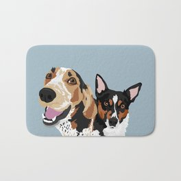 Freddy and Trigger Bath Mat
