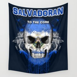 To The Core Collection: El Salvador Wall Tapestry
