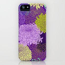 Chrysanthemum blossom iPhone Case