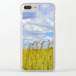 Clouded Sky Clear iPhone Case