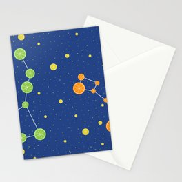 Citrus constellations Stationery Cards