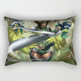 Roxy, Failed Ambush  Rectangular Pillow