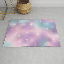 Pastel sky for the dreamers of the dreams Rug