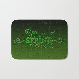 Spring every day Bath Mat