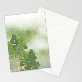 Miharu Shirahata | The day a cloud is born Stationery Cards