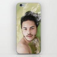 bath iPhone & iPod Skins featuring BATH by Skankotron