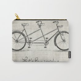 Bicycle Quote Carry-All Pouch